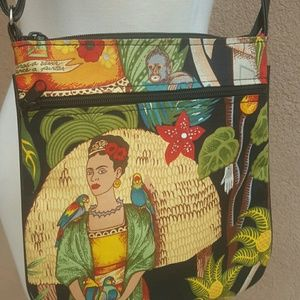 Handbags - Frida kahlo crossbody bag